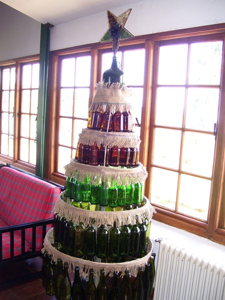 HTF used bottles X Mas Tree